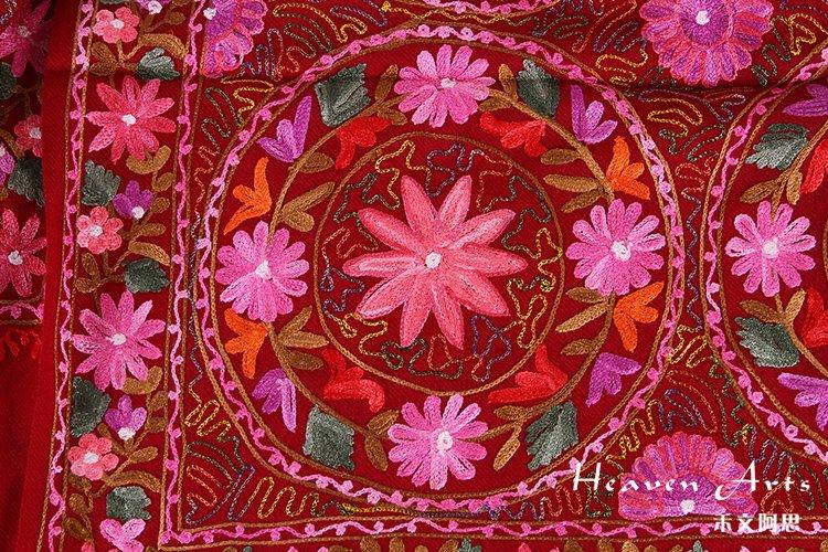 绸纱花制作图解