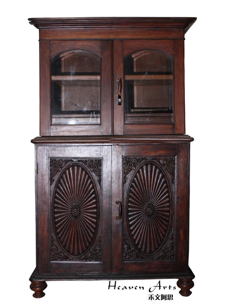 高:207 宽:52 产地:印度 质地:紫檀木 工艺:纯手工|仿古 类别:柜子