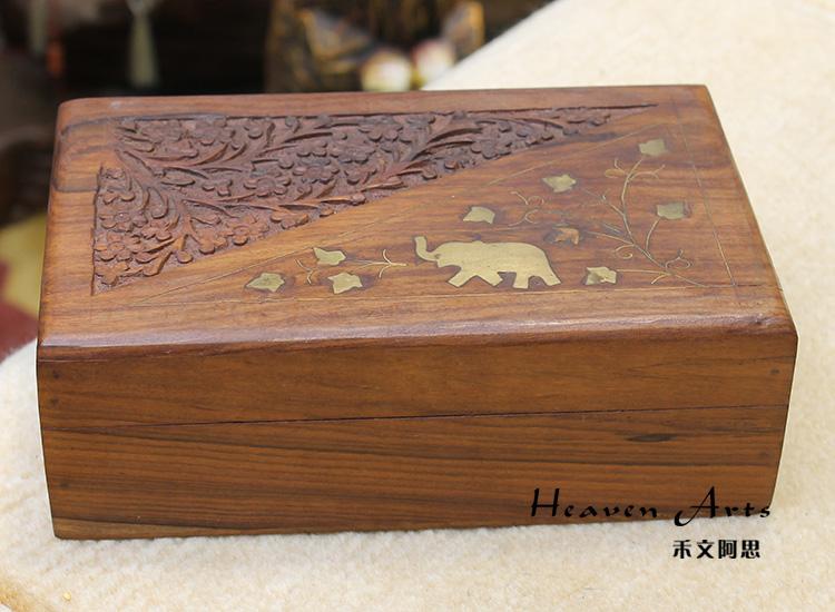 桃木首饰盒
