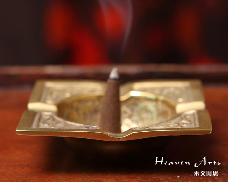 印度手工铜制香具(多用)