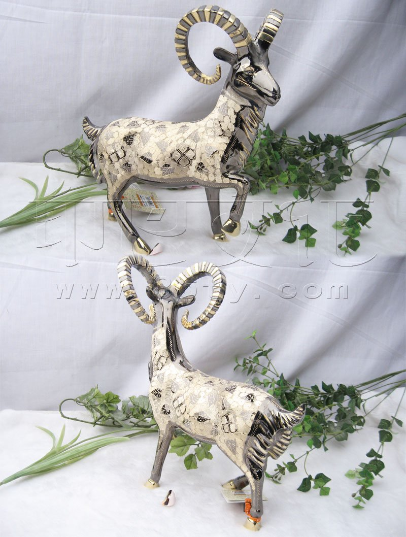 印度手工精雕羊