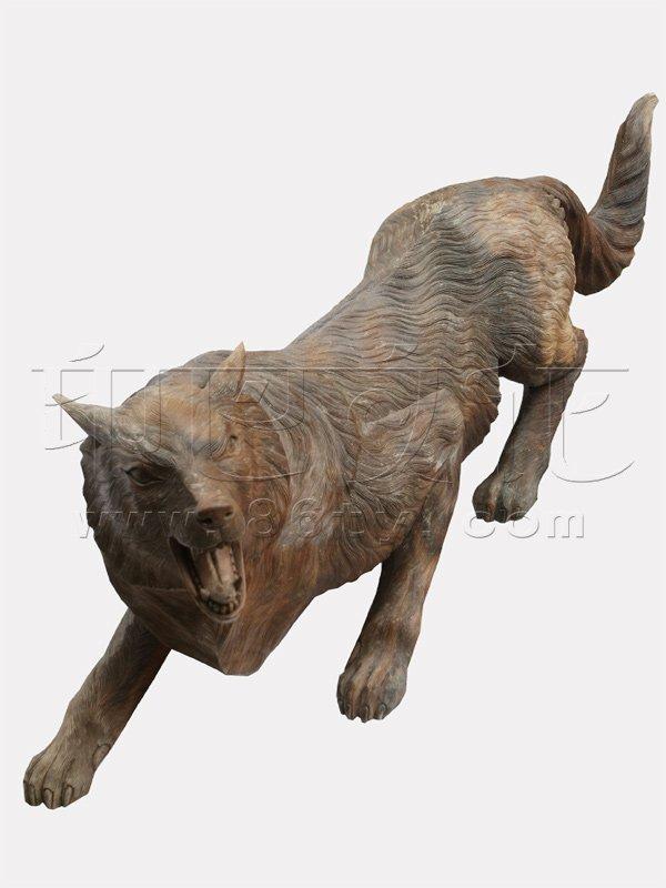 狼的动物档案