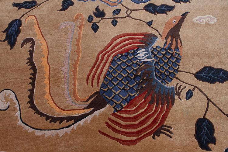 手工雕刻木头动物蛇