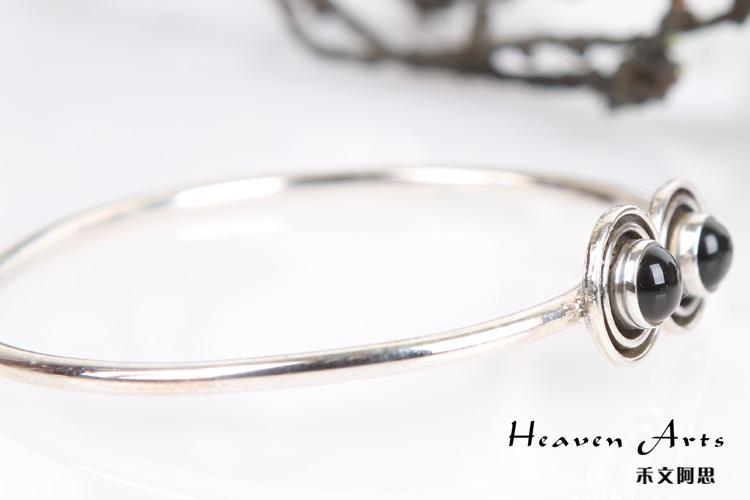 古代银镯子花纹