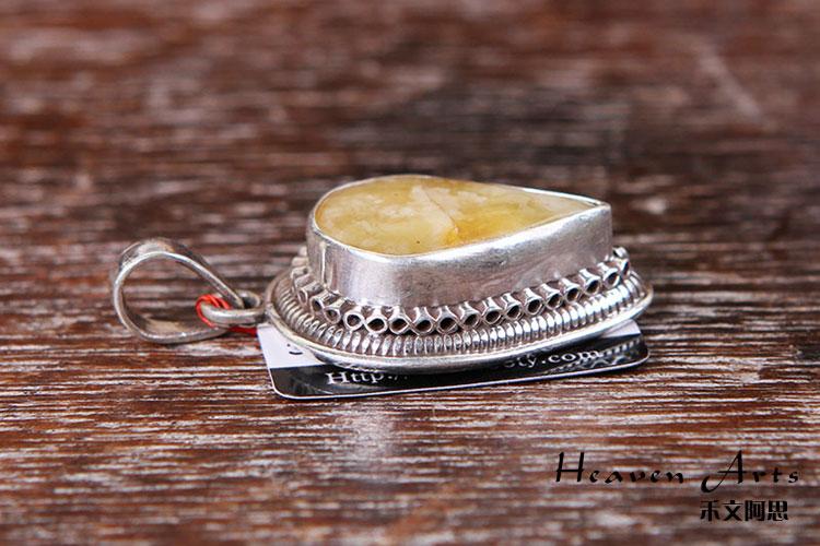 三层银珠子编戒指图解