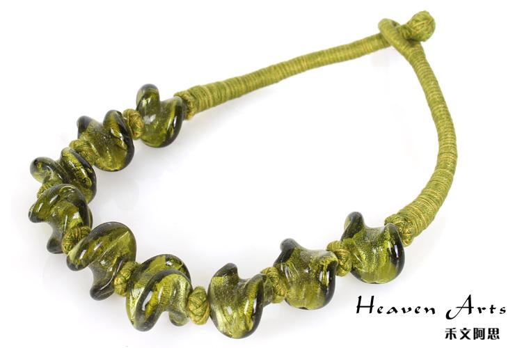 项链>印琉璃项链