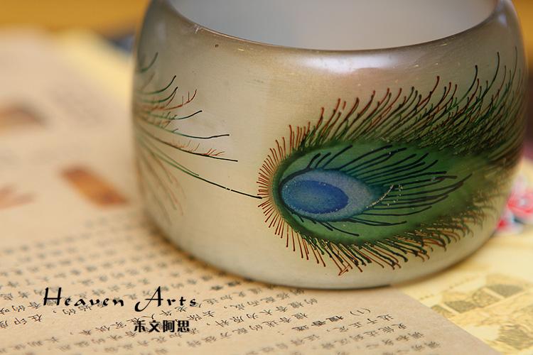 纸杯小孔雀制作图解