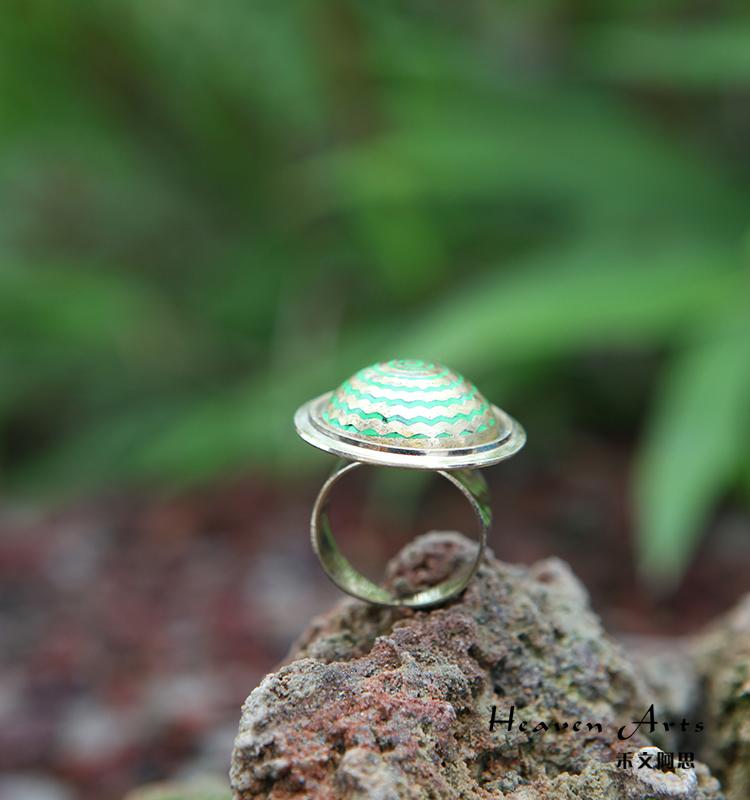 印度彩绘戒指
