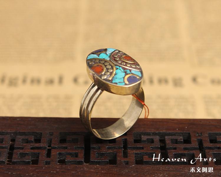 印度汉娜手绘戒指