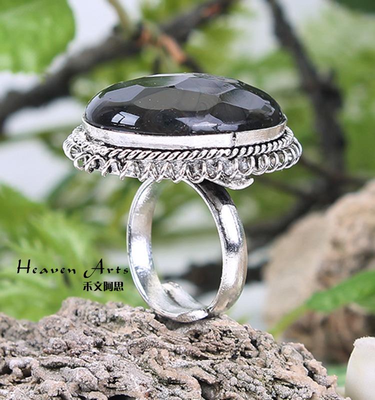印度镶石戒指 - 戒指
