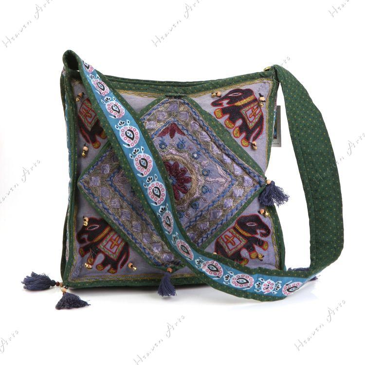 印巴手工布包 - 布艺包包