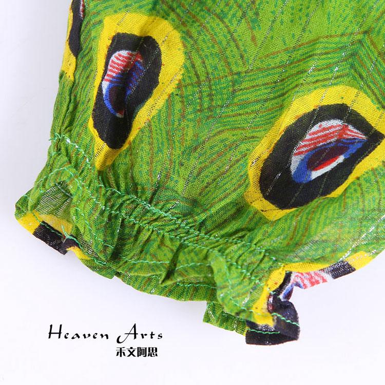 """""""印巴风情""""衣服主要由刺绣钉珠,扎染蜡染,印花绣线,棉麻"""