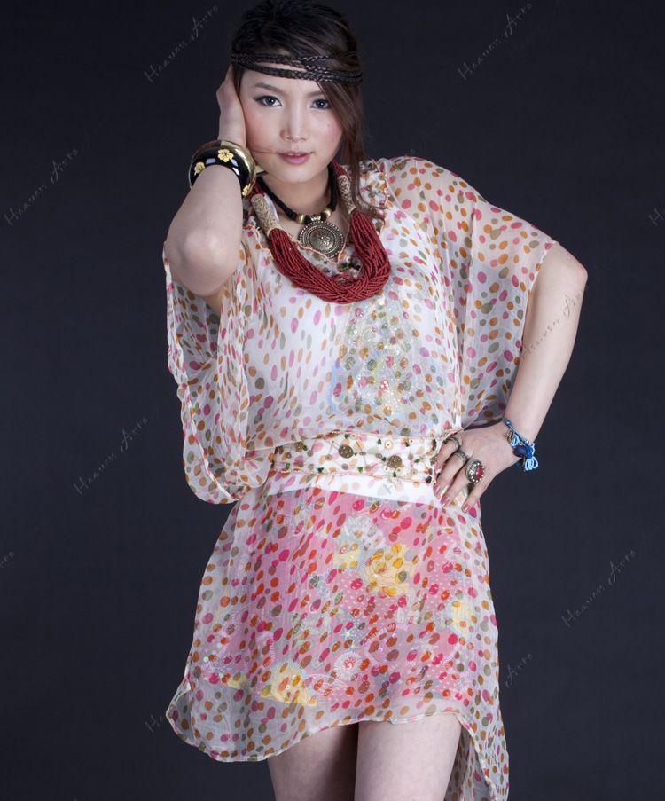 纱衣编织款式图