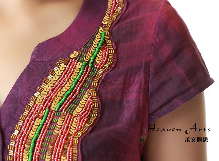 印度古尔塔上衣 - 衣服 - 印巴服装,heavenarts 禾文