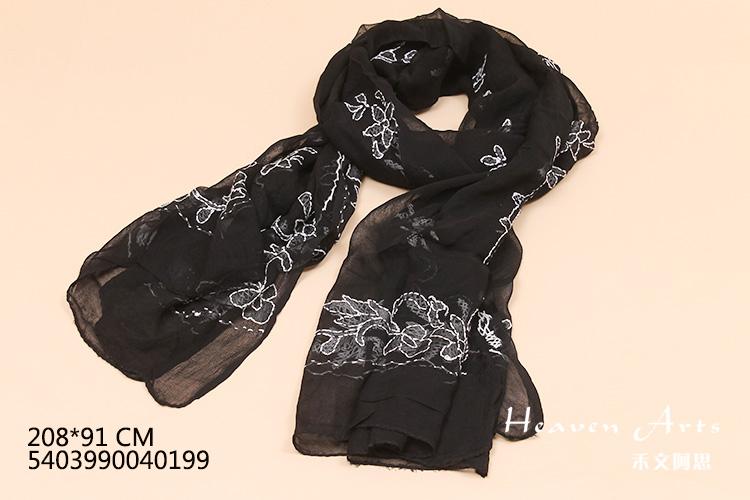 幼儿冬季手工制作围巾手工