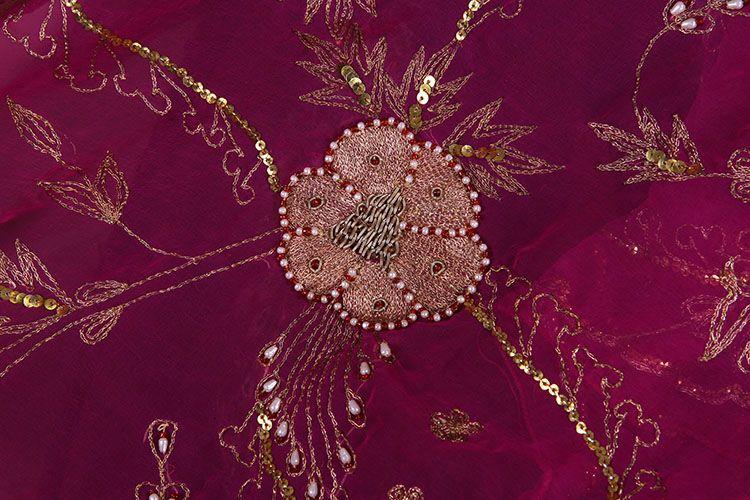 印度女性服饰花纹