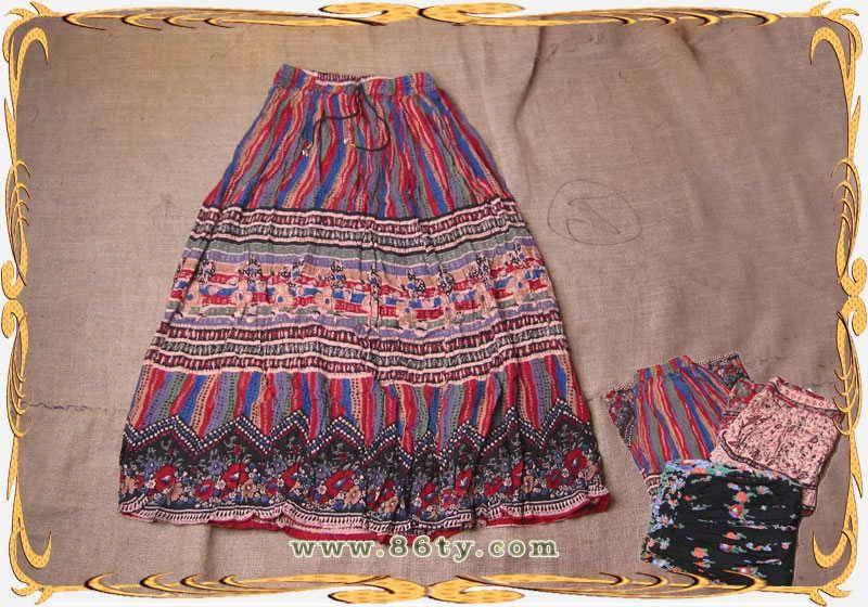 印度手工裙子