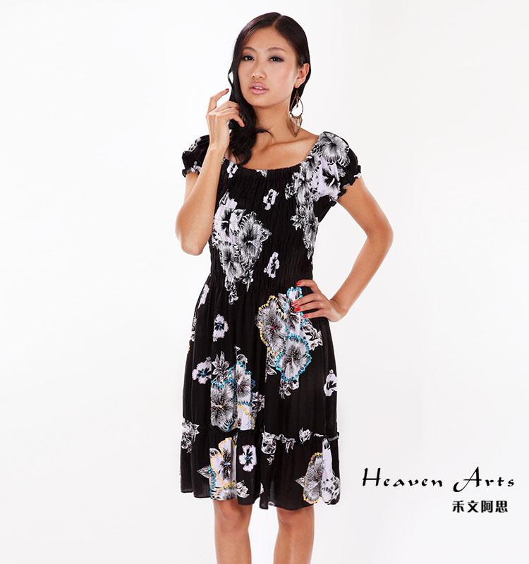 乖乖型钉珠连衣裙 - 裙子