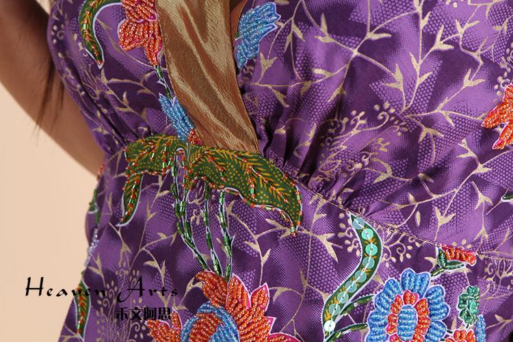 手版印钉珠带裙