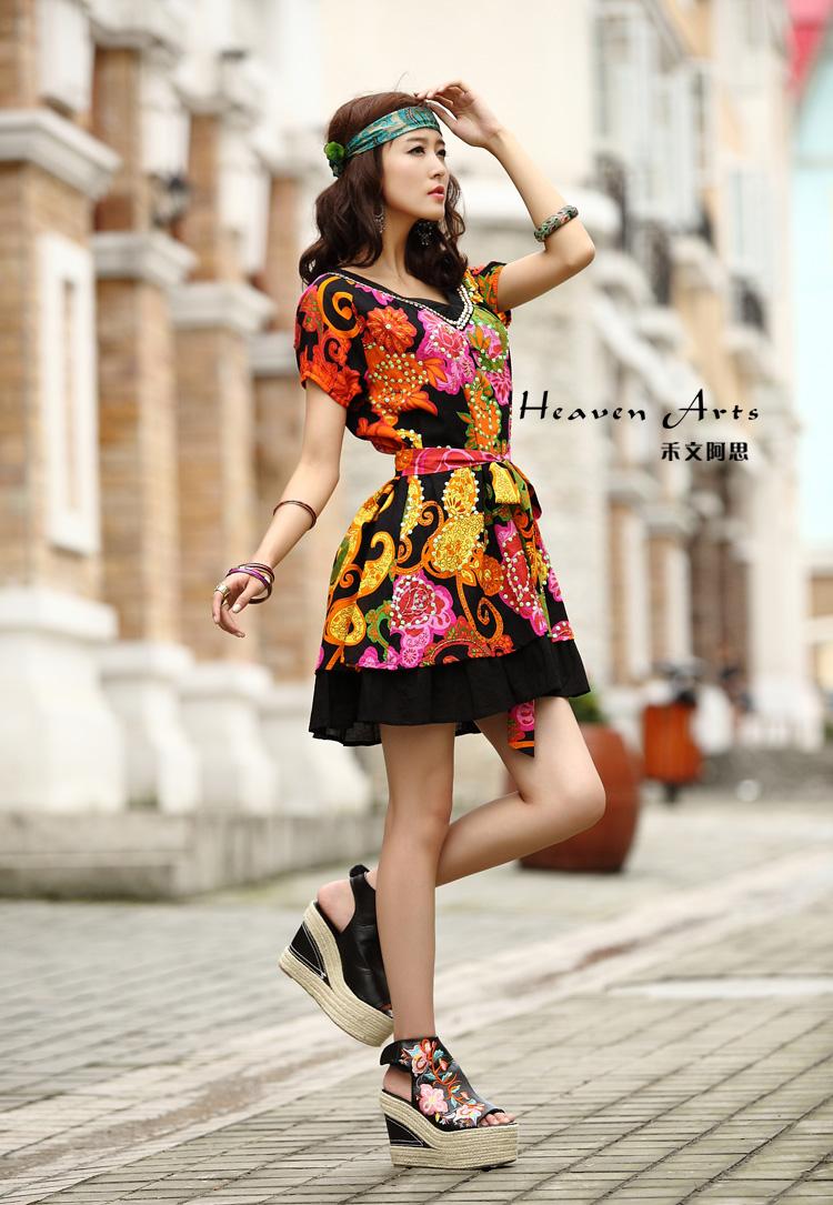马萨拉色彩系列裙子