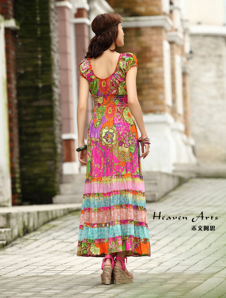 折裙子的步骤图片