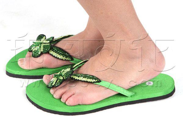 鞋 - 彩色拖鞋