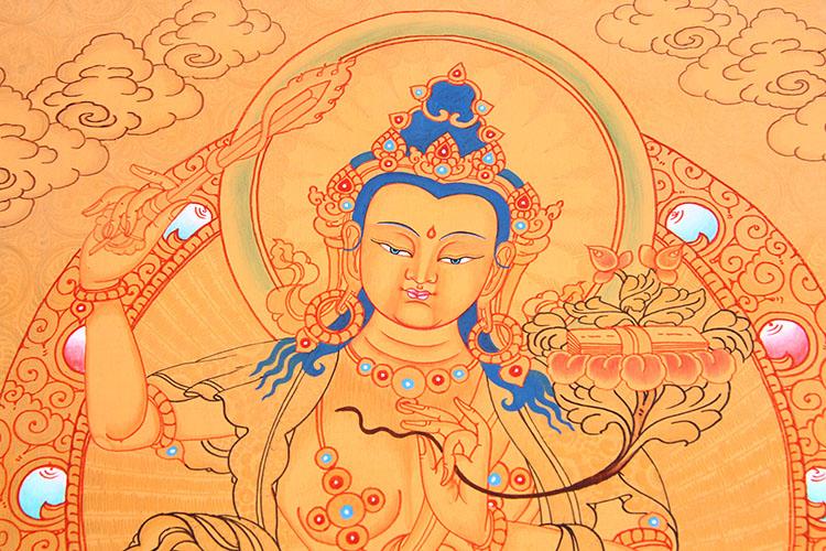 在藏族绘画史上占有重要的地位