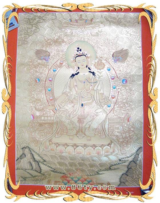 印度手绘唐卡