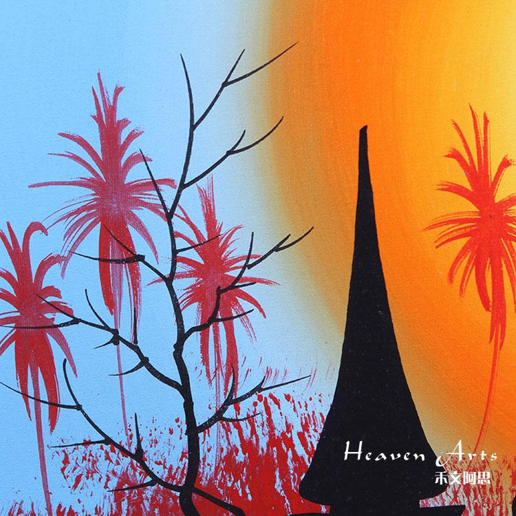泰国手绘画 - 印度画 - 摆件家具,heavenarts 禾文