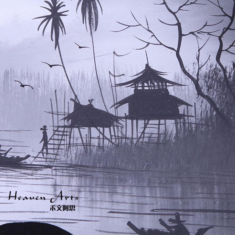 泰国手绘画 - 印度画