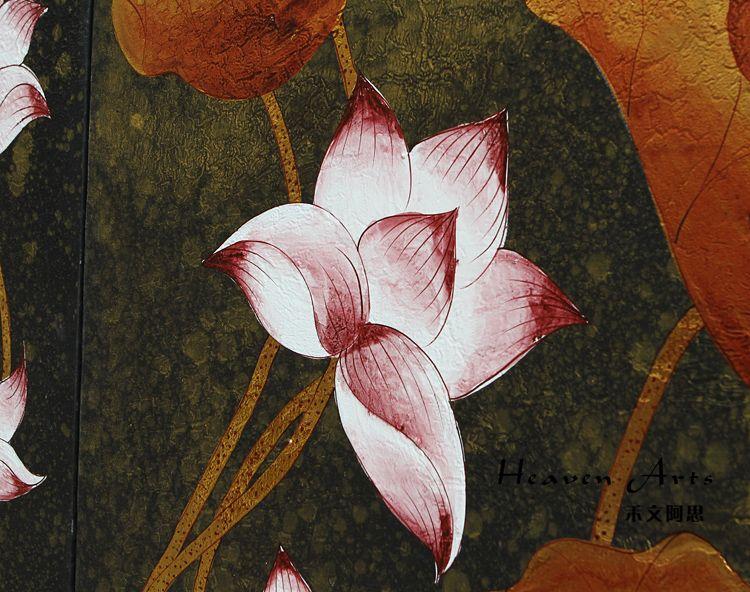 印度手工画-荷花(套)