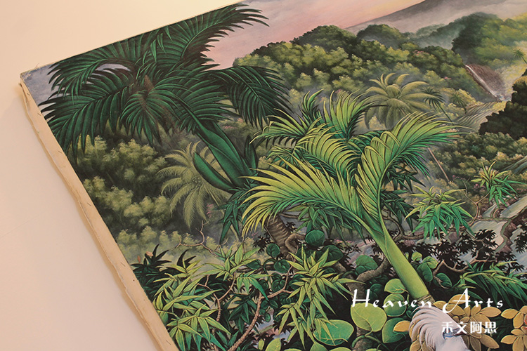 印度手绘画 - 印度画 - 摆件家具,heavenarts 禾文