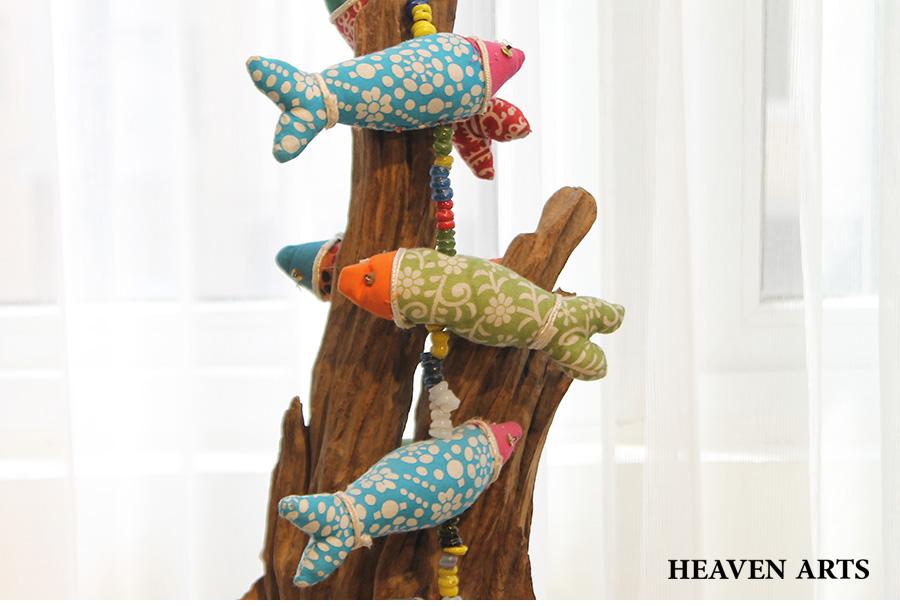 幼儿园手工制作鱼吊饰