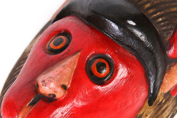 彩绘面具(猴) - 面具
