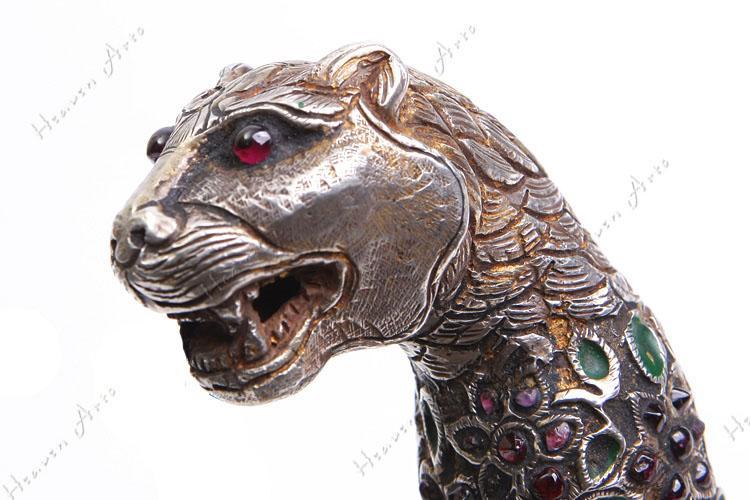 动物猎豹平面手工作品图片